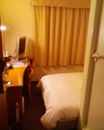 アパホテル横浜関内の室内(入口付近)